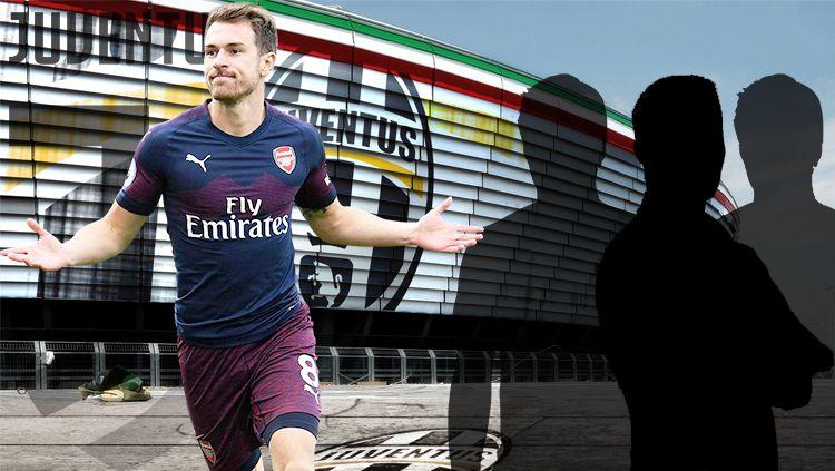 Aaron Ramsey, disebut-sebut akan bergabung ke Juventus. Copyright: © Getty Images