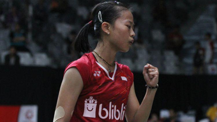 Fitriani satu-satunya wakil Indonesia d final Thailand Master 2019. Copyright: © badmintonindonesia.org