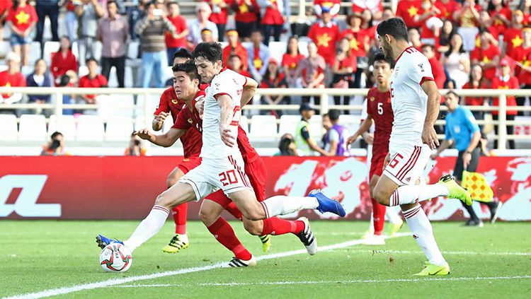 Vietnam vs Iran Copyright: © twitter.com/afcasiancup