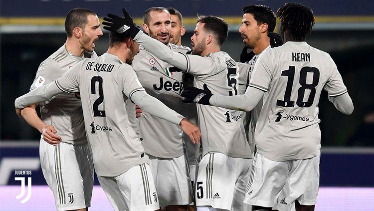 Hasil Pertandingan Coppa Italia Bologna vs Juventus Copyright: © INDOSPORT