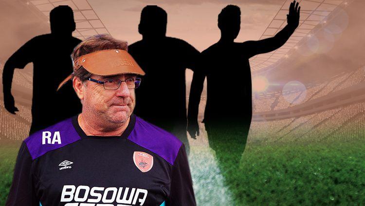3 pemain PSM Makassar yang bisa dibawa pergi Robert Rene Alberts. Copyright: © INDOSPORT