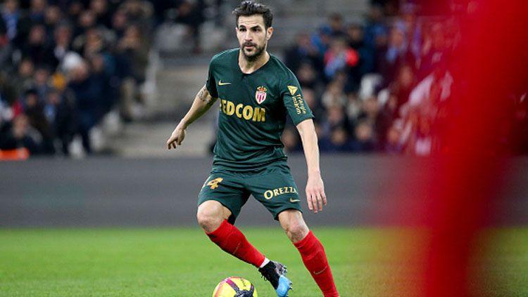 Cesc Fabregas, playmaker AS Monaco. Copyright: © INDOSPORT