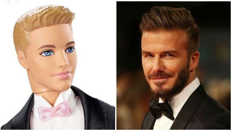 Menurut survei, David Beckham difavoritkan jadi pemeran Ken di film Barbie. Copyright: © aliexpress/Getty Images