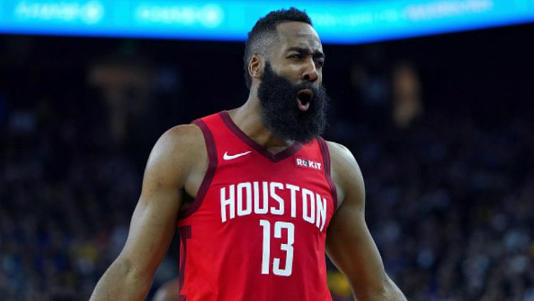 James Harden, pemain megabintang milik Houston Rockets. Copyright: © INDOSPORT