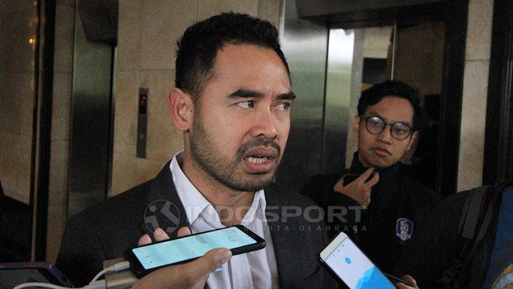 Eks Pemain Timnas Sepak bola Indonesia, Ponaryo Astaman Copyright: © Muhammad Nabil/INDOSPORT