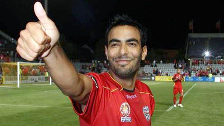 Marcos Flores, pemain incaran Persebaya Surabaya. Copyright: © FTBL