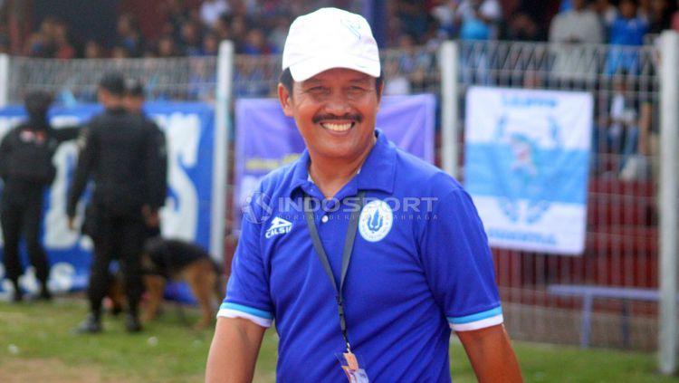 Mantan pelatih Persib Bandung, Jaya Hartono. Copyright: © Ronald Seger Prabowo/Indosport.com