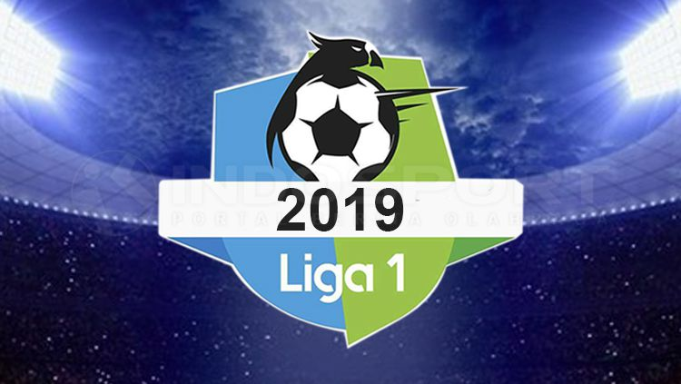 Ilustrasi logo Liga 1 2019. Copyright: © Tiyo Bayu Nugroho/INDOSPORT