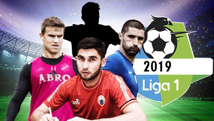 Empat pemain asing yang kiprahnya layak dinanti di Liga 1 2019 Copyright: © Eli Suhaeli/INDOSPORT