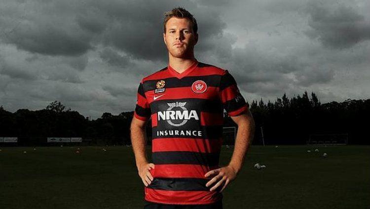 Daniel Mullen berseragam Western Sydney Wanderers. Copyright: © News.com.au