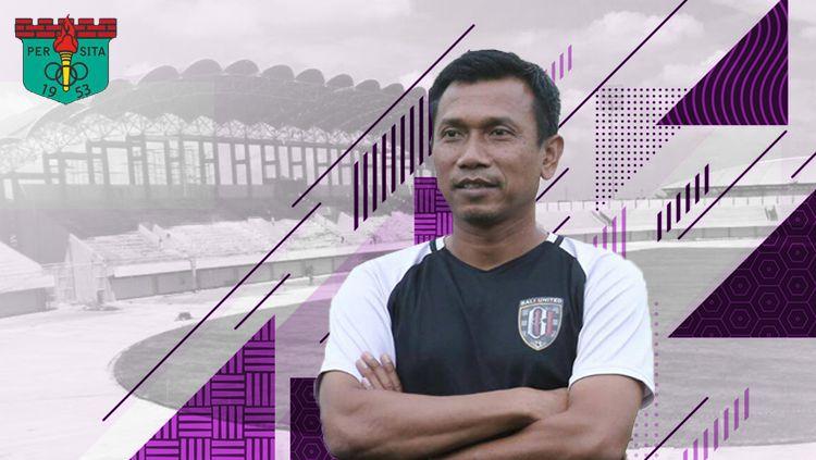 Widodo Cahyono Putro resmi jadi pelatih Persita Tangerang Copyright: © Eli Suhaeli/INDOSPORT