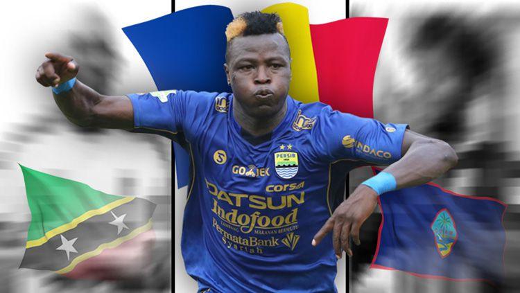 3 negara 'antah berantah' yang pernah sumbang pemain asing di liga Indonesia. Copyright: © Indosport.com