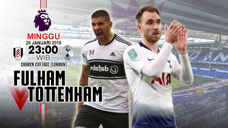 Prediksi Fulham vs Tottenham Copyright: © INDOSPORT