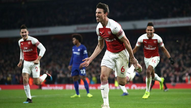 Arsenal vs Chelsea. Copyright: © INDOSPORT