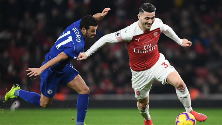 Arsenal vs Chelsea. Copyright: © INDOSPORT