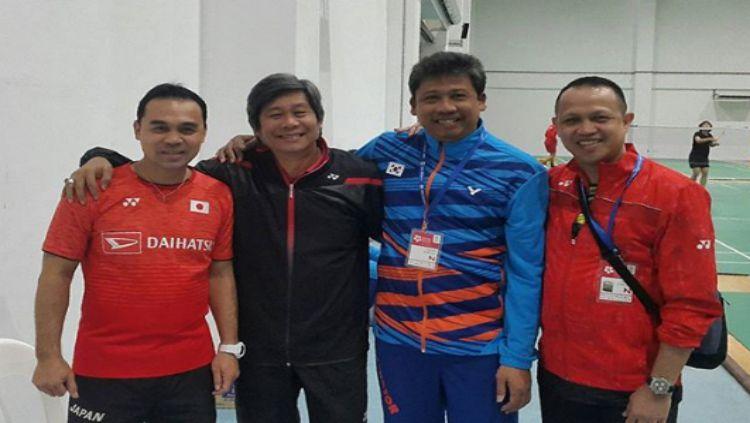 Reonny Mainaky, Herry Iman Pierngadi, Agus Dwi Santoso, dan Rexy Mainaky Copyright: © instagram/agus_d_santoso