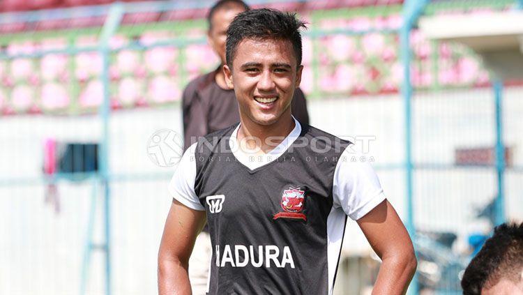 Gufroni Al Maruf, Winger Madura United Copyright: © Ian Setiawan/ INDOSPORT