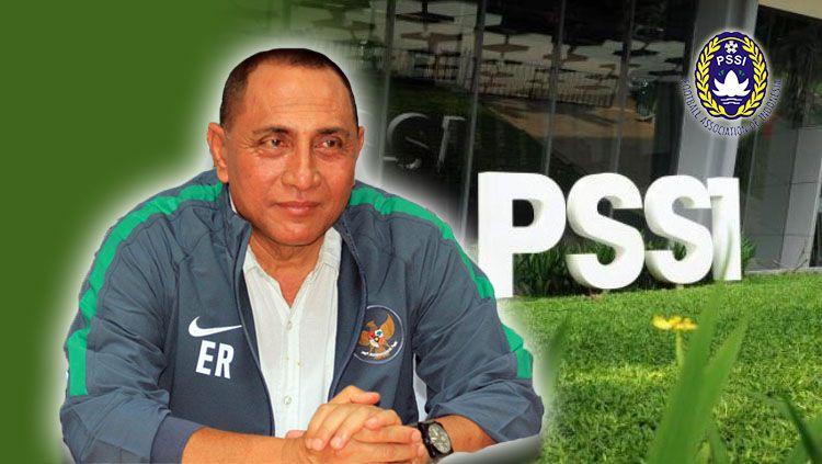 Edy Rahmayadi Mengundurkan diri jadi Ketua PSSI. Copyright: © INDOSPORT