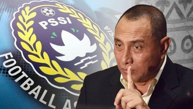 Edy Rahmayadi mundur dari jabatan Ketua Umum PSSI. Copyright: © INDOSPORT