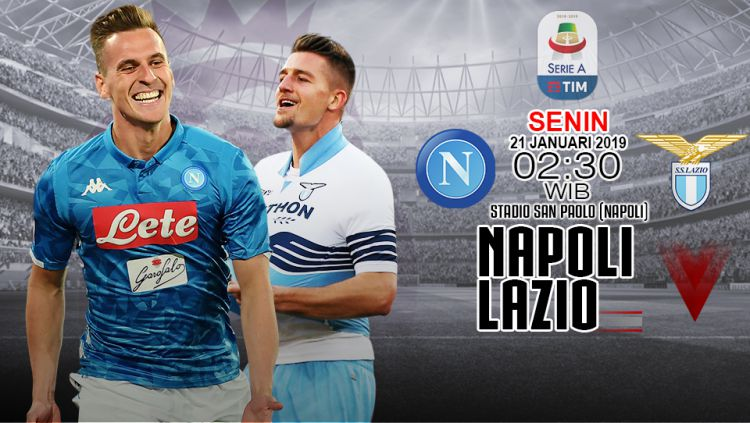Napoli vs Lazio (Prediksi) Copyright: © Getty Images / Grafis: INDOSPORT