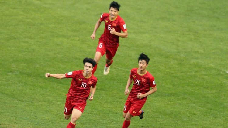 Para pemain Vietnam. Copyright: © AFC