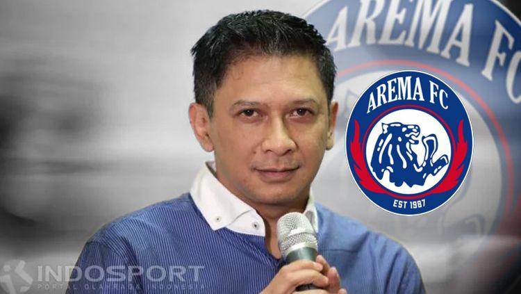 Iwan Budianto memutuskan untuk mundur dari posisi CEO Arema FC Copyright: © INDOSPORT
