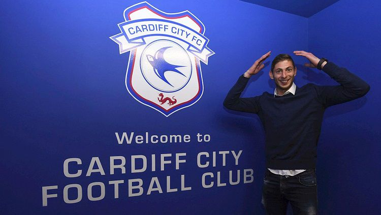 Rekrutan anyar Cardiff City dari Nantes, Emiliano Sala. Copyright: © Cardiff City