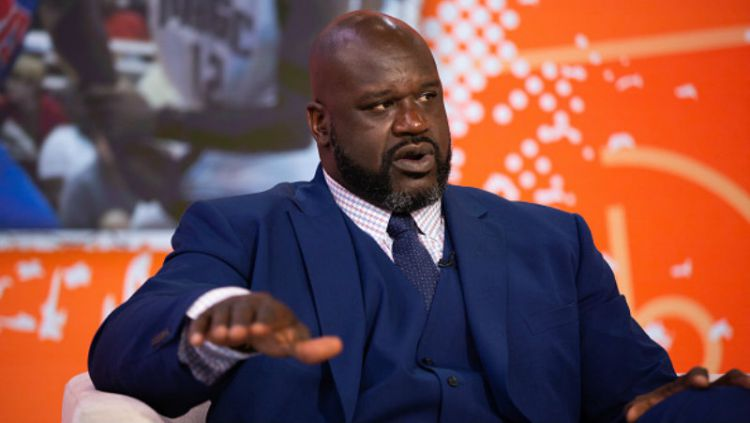 Shaquille O'Neal, legenda basket NBA. Copyright: © INDOSPORT