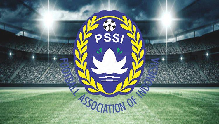 Logo PSSI. Copyright: © Tiyo Bayu Nugroho/INDOSPORT