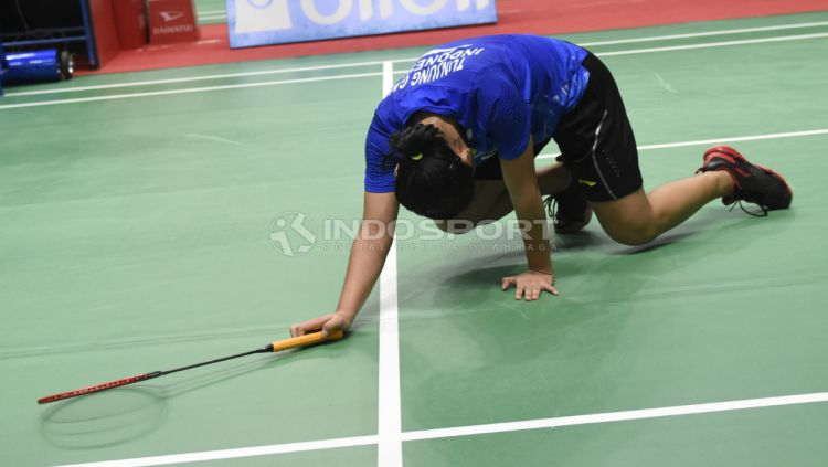 Gregoria Mariska Tunjung di Indonesia Masters 2019 Copyright: © Herry Ibrahim/INDOSPORT