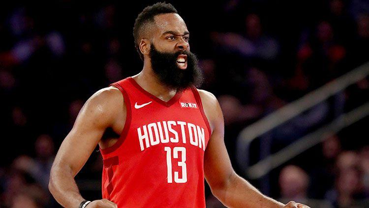 James Harden diyakini pelatih Houston Rockets, Mike D'Antoni, bakal menggila di NBA musim depan. Copyright: © Getty Images