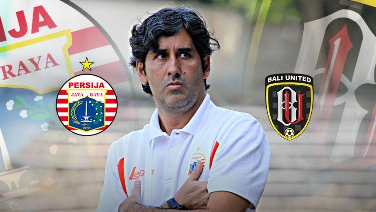 Pelatih Bali United, Stefano Cugurra Teco. Copyright: © Indosport.com