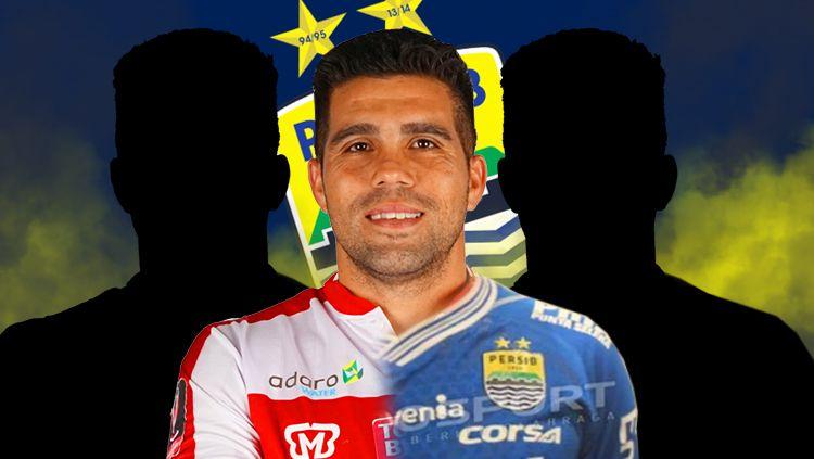 Tiga pemain lokal yang cocok untuk Persib Bandung, diantaranya Fabiano Beltrame Copyright: © INDOSPORT