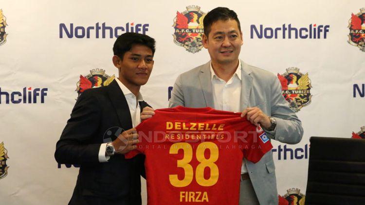 AFC Tubize juga sepakat kerja sama dengan Northcliff sebagai bagian kesepakatan transfer Firza Andika Copyright: © Petrus Manus Da' Yerimon/INDOSPORT
