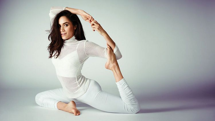 Meghan Markle sudah menyukai yoga sejak kecil. Copyright: © besthealthmag.ca