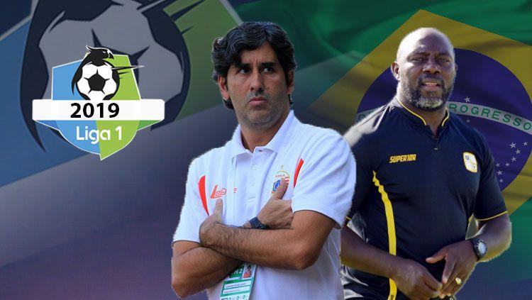 pelatih-pelatih brasil di liga 1 Copyright: © INDOSPORT