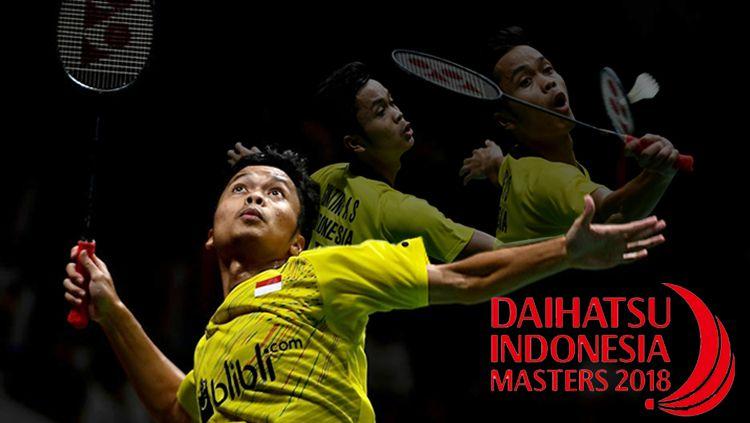 Mengingat Kembali Indonesia Masters 2018, Kejutan Anthony Sinisuka Ginting Copyright: © INDOSPORT