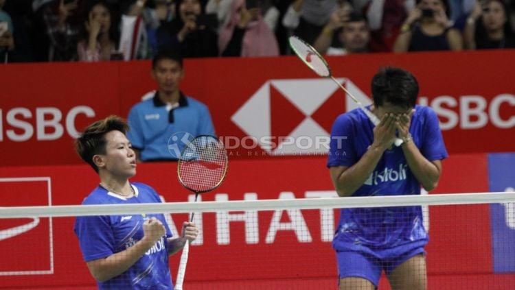 Ganda campuran Indonesia, Tontowi Ahmad/Liliyana Natsir melaju ke final Indonesia Masters 2019 Copyright: © Herry Ibrahim/INDOSPORT