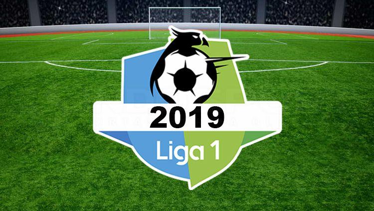 Ilustrasi logo Liga 1 2019. Copyright: © INDOSPORT