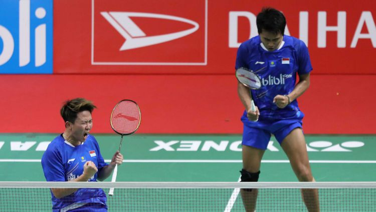 Tontowi Ahmad dan Liliyana Natsir Copyright: © badmintonindonesia