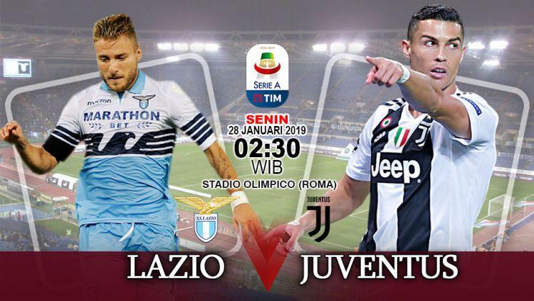 Prediksi Pertandingan Serie A Italia Lazio Vs Juventus Indosport