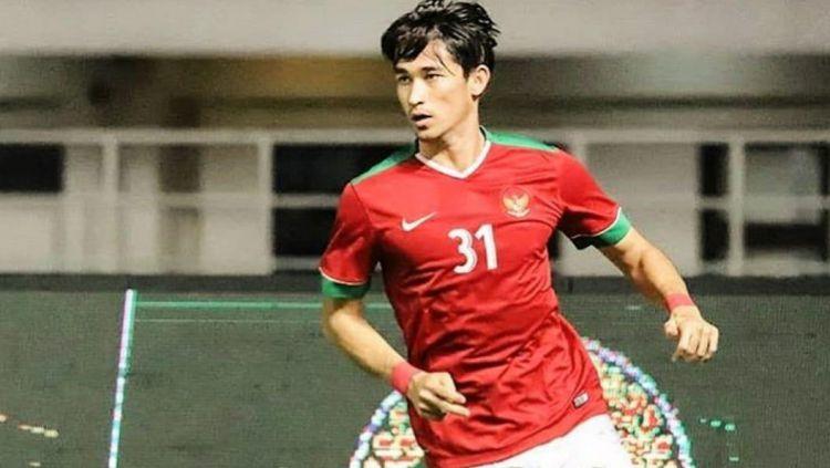 Gavin Kwan Adsit saat memperkuat Timnas Indonesia U-23. Copyright: © sportourism