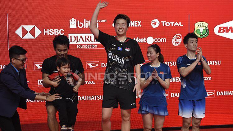 Final Ganda Campuran Indonesia Master 2019 Copyright: © INDOSPORT/Herry Ibrahim