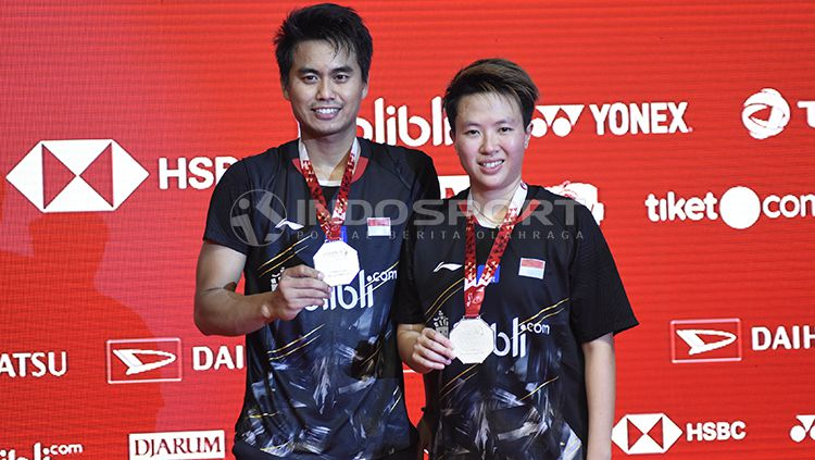 Final Ganda Campuran Indonesia Master 2019 Copyright: © INDOSPORT/Herry Ibrahim