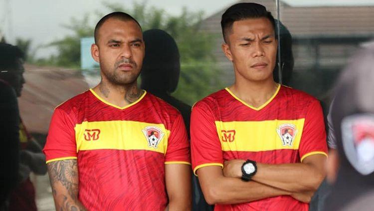 Pemain baru Kalteng Putra, Edgar Pachecho. Copyright: © Instagram.com/kaltengputraid