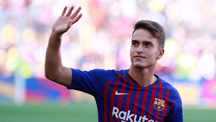 Denis Suarez, gelandang serang Barcelona. Copyright: © Getty Images