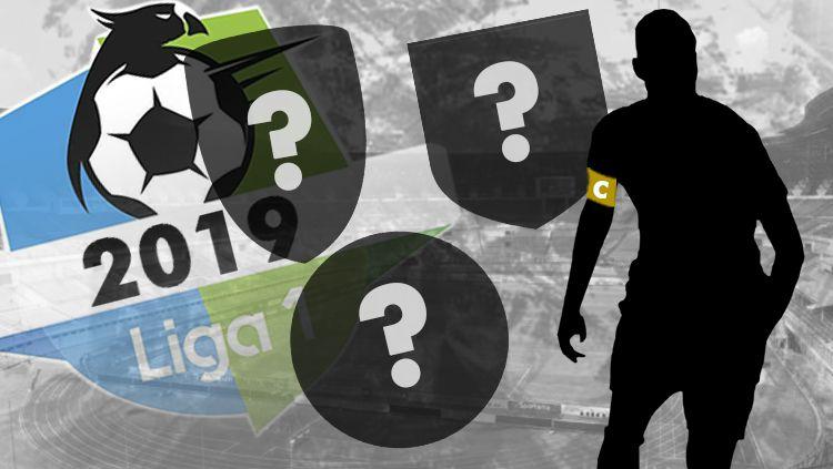 3 Klub Liga 1 Sudah Tetapkan Kapten Tim Jelang Musim 2019. Copyright: © INDOSPORT