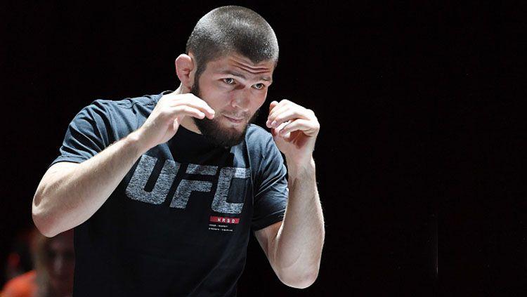 Khabib Nurmagomedov, petarung UFC. Copyright: © INDOSPORT