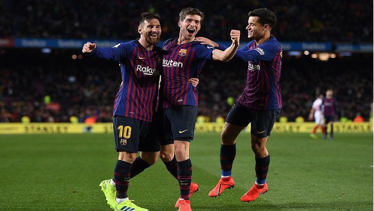 Barcelona vs Sevilla Copyright: © Getty Images