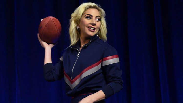 Lady Gaga pernah mengalami gangguan perilaku makan. Copyright: © AFP/Getty Images/Timoth A Clary